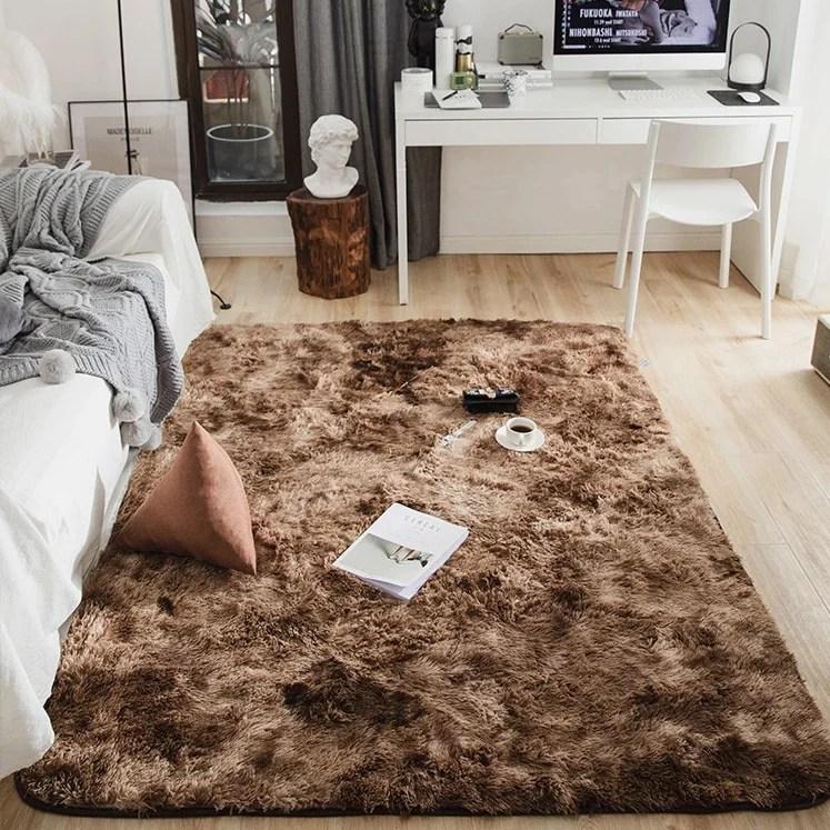 https www ruedutapis com products tapis shaggy marron moelleux ultra doux