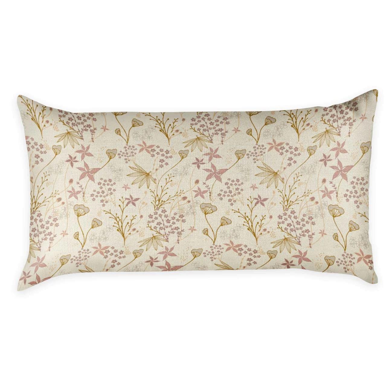 frankie floral lumbar pillow