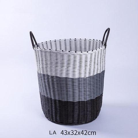 panier plastique tresse panier ideal