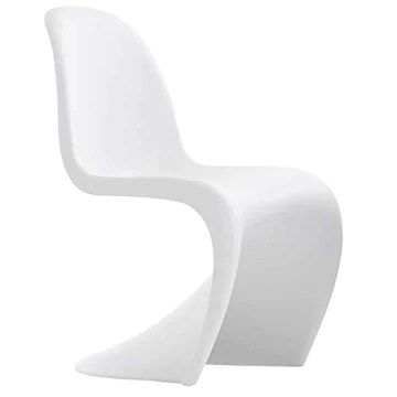 GIOVANNI MARCHESI Lot DE 6 CHAISES Pop Art Blanc, 75x51x148