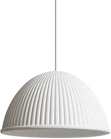 Décoration salle à manger ronde pendentif, résine design créatif E27 lampe pendante, lampe de suspension réglable pour le couloir de bureau 60x35cm vert (24x14inch),blanc,60x35cm (24x14inch)