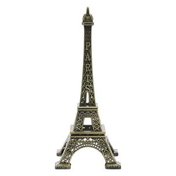 AURSTORE Souvenirs de France - Tour Eiffel Miniature Métal - Couleur : Noir - Taille : 65 cm