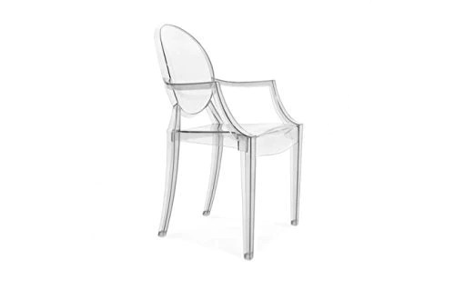 Chaise Design - Ice Blanche Transparente by MeubleDeal