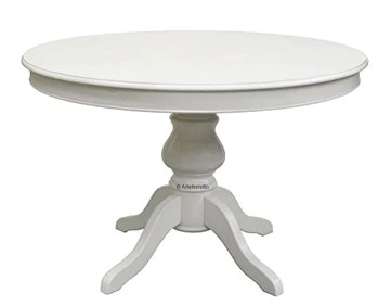 Arteferretto Table laquée Ronde allonge - diamètre 120 cm