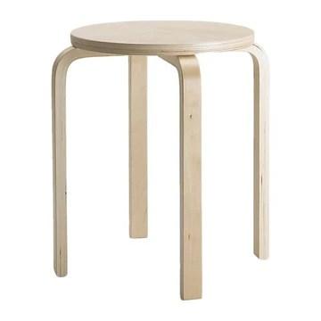 IKEA FROSTA TABOURET, BOIS, 45 X 46 X 4 CM