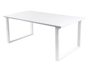 Leitmotiv Fushion Table Basse, MDF, Blanc, Taille Unique