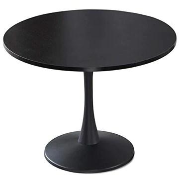 Paris Prix - Table De Repas Ronde Nancy 100cm Noir