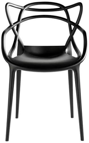 Kartell 586609 chaise masters (noir)