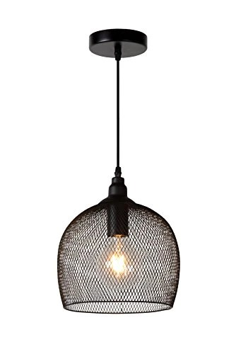 Lucide MESH - Suspension - Ø 22 cm - Noir
