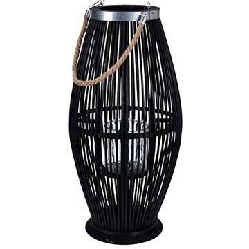 Biorausch Lanterne bioren Bambou - Moyen/Noir - 59 cm