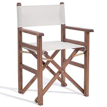 Plant Theatre – Chaise de metteur en scène beige