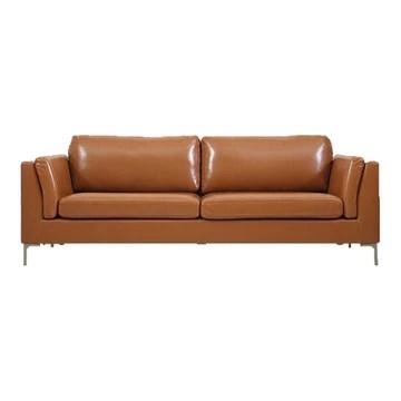 KEMANDUO Canapé Moderne - Canapé en Cuir De Haute Qualité - Respirant/Doux / Confortable - Chambre/Salon / Bureau,Brown