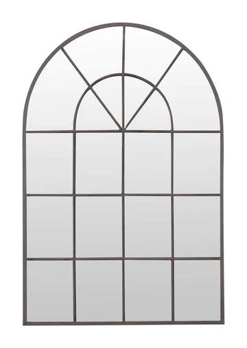 Select Mirrors Stamford Miroir arqué en métal pour fenêtre 60 x 90 cm (métal Rustique)