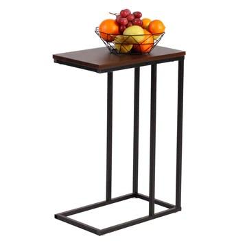 eSituro Table d'appoint Bout de Canapé, Table de Chevet,Petite Café Table,Table Basse SCD0015