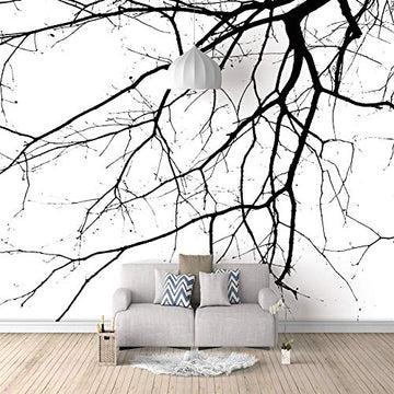 3d papier peint personnalisé Branches 3d photo murales murale interieur poster décor mural moderne 350x250cm