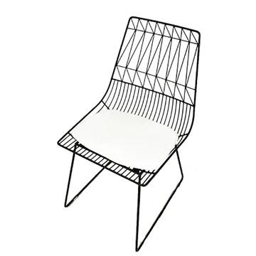 A-SRHY Bar Tabourets Bar Chaises Meubles Tabourets de bar Tabouret de petit déjeuner tabouret industriel Hollow-out fil de fer chaise de fer art dinant la chaise or noir Jardin Bar Tabourets