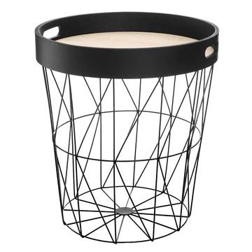 marque Atmosphera, créateur d'intérieur Table à café Kumi Plateau Noir.