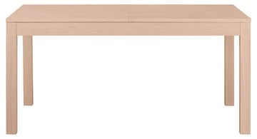 Keo Nano Table avec 2 Allonges Inclus, Bois, Naturel, 160 x 90 x 77 cm