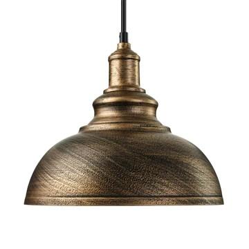 BAYCHEER E27 Métal Retro Lustre Abat-jour Suspensions Luminaires Plafonniers Lampe Industriel Cuivre