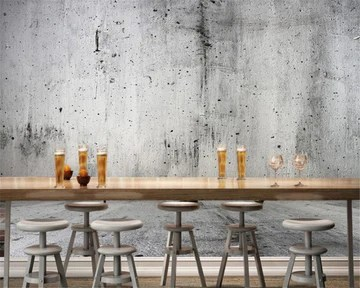 BZDHWWH Photo De Mur De Béton Personnalisé 3D Papier Peint Mur De Pierre Nostalgique Texture Fond Fonds D'Écran pour Le Salon,250cm (H) x 375cm (W)