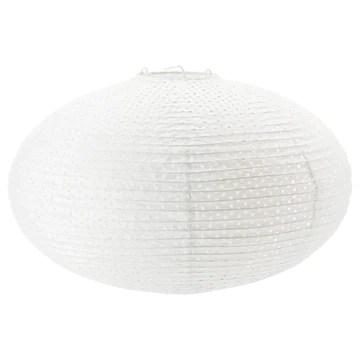 Ikea Solleftea Pendentif Abat-jour, Blanc, forme ronde
