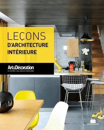 Leçons d'architecture intérieure