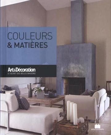 Couleurs & matières (Poche Art & Décoration)