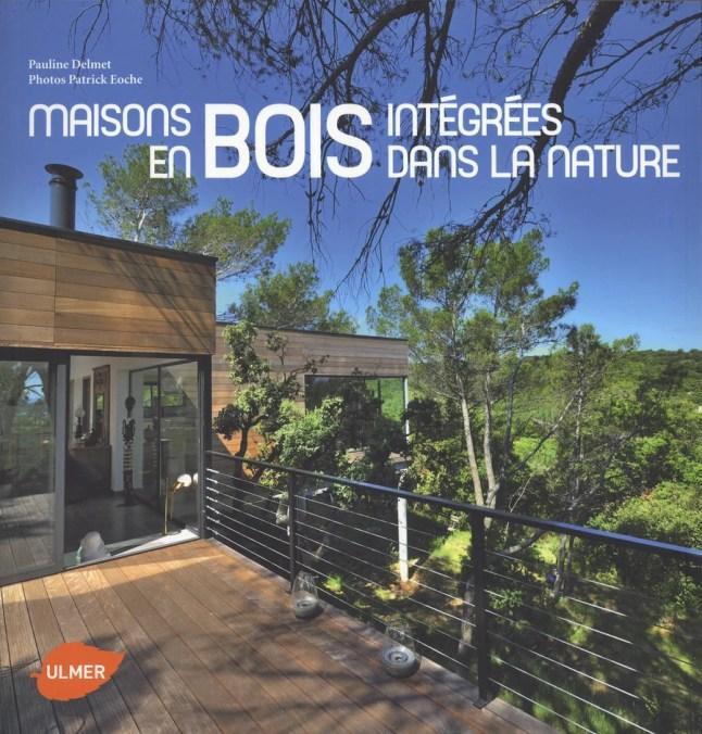 Maisons en bois intégrées dans la nature