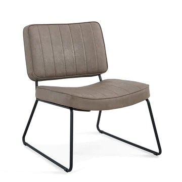 Medal Lounger Fauteuil, Taupe, Taille Unique