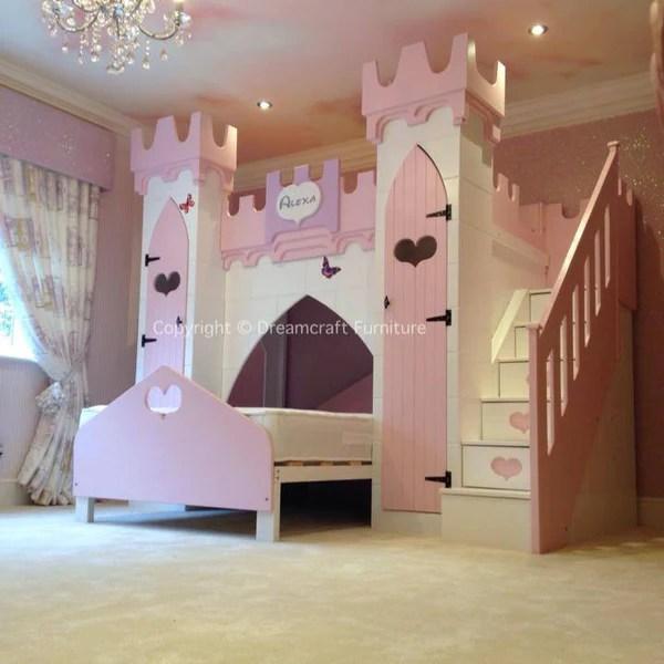 Alexa Princess Castle Bed Dreamcraft Furniture