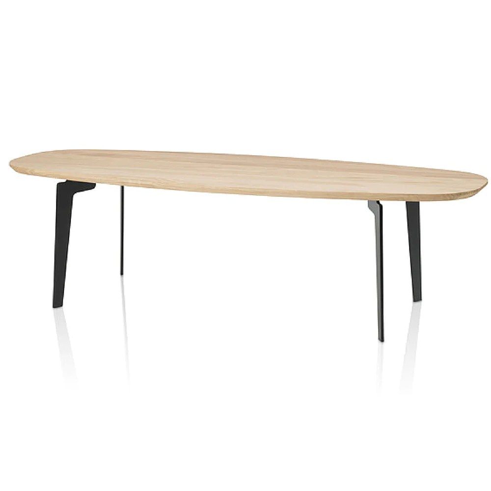 fritz hansen join coffee table oval