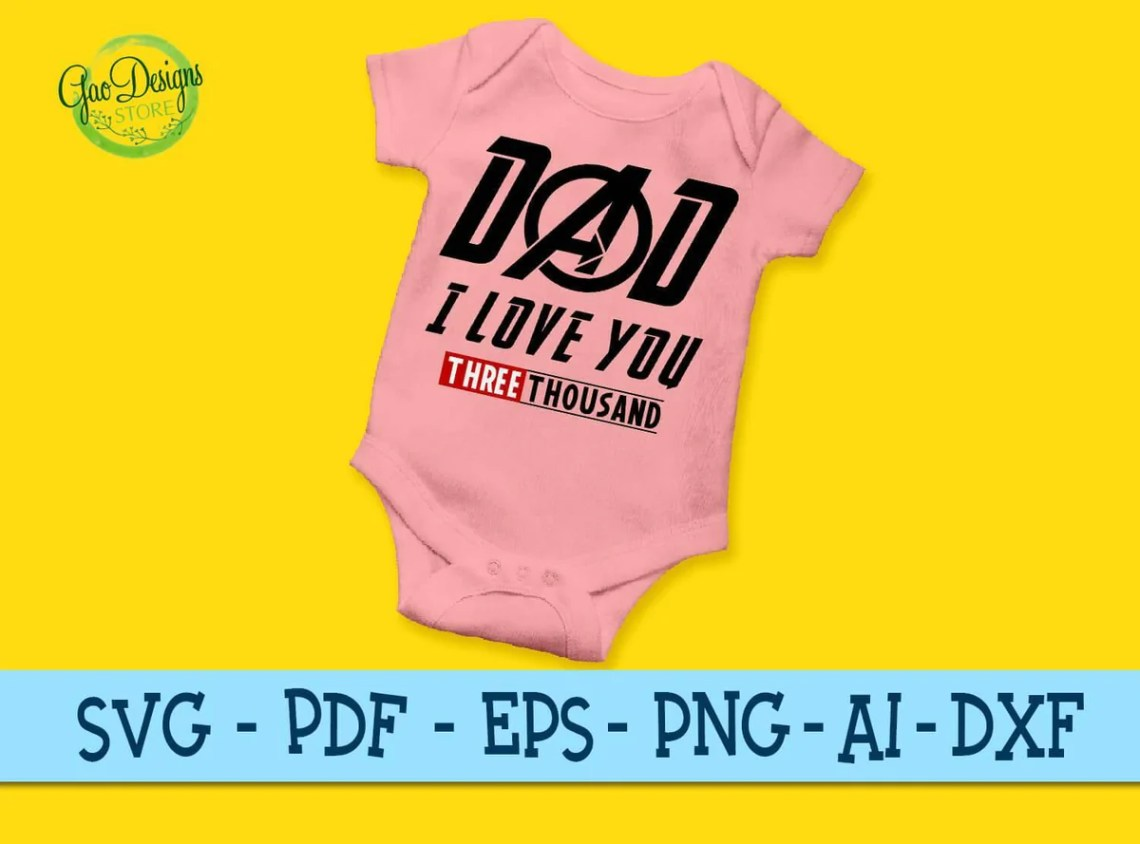 Download DAD I love you 3000, Father Son Matching, Father and Son ...