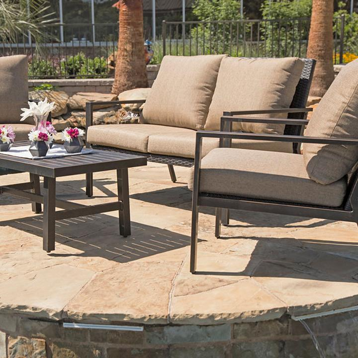 lone star 4 piece outdoor patio seating