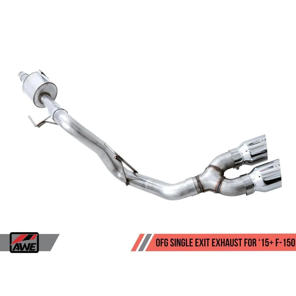 awe 0fg single side exit exhaust 2015
