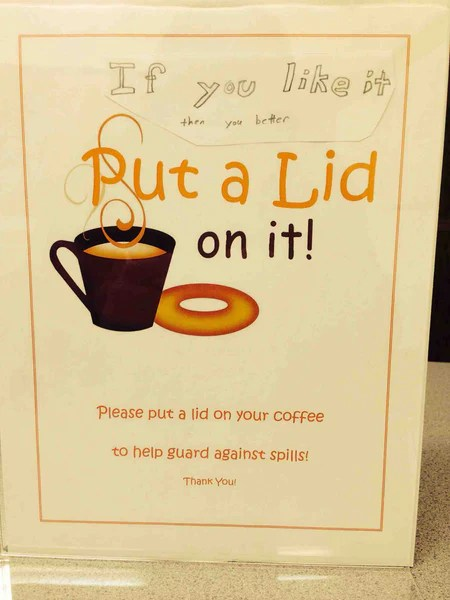 8 Passive Aggressive Coffee Shop Signs Death Wish Coffee Company