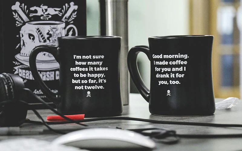 Our Latest Diner Mug Set Is Here Death Wish Coffee Company
