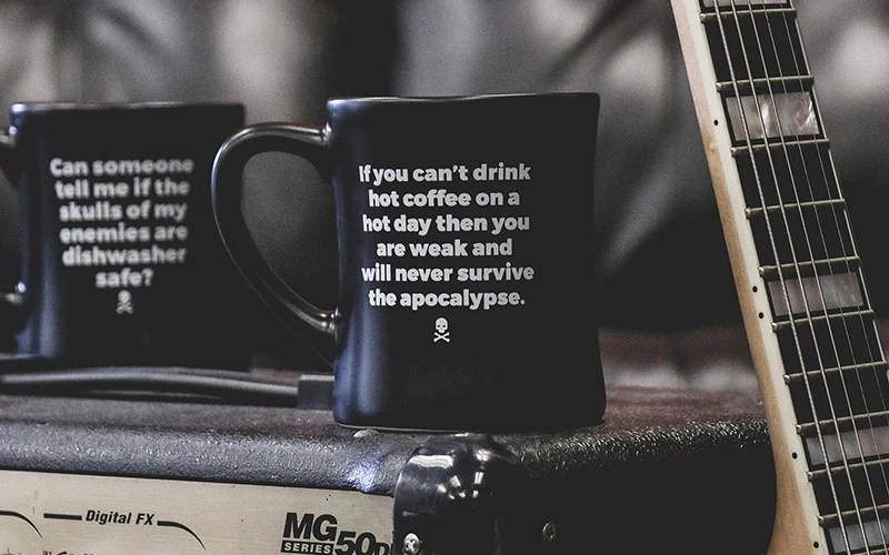 Diner Mugs With Brutally Honest Sayings Death Wish Coffee Company