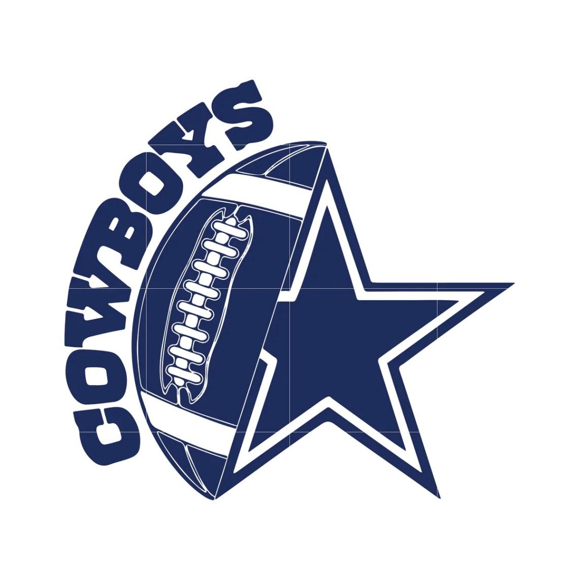 Download Cowboys ball and star svg, dallas cowboys svg, cowboys svg ...