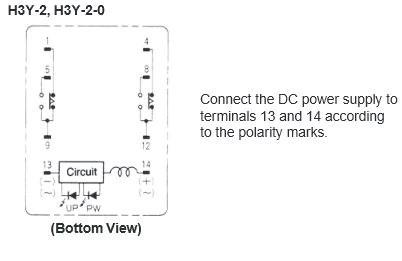 H3Y2 100110VAC Omron Analog Mini Timer   jababekaelektric