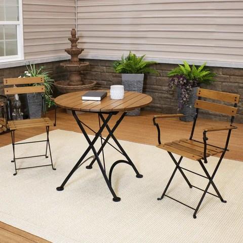 to arrange patio furniture on