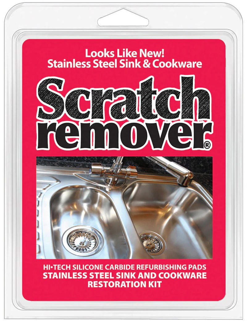 siege chemical stainless steel sink and cookware scratch remover