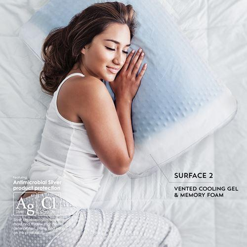 purecare sub 0 softcell chill reversible hybrid pillow