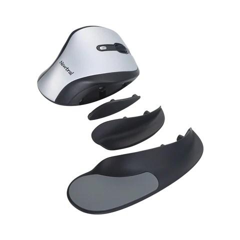 银色/黑色Newtral 2鼠标-无线