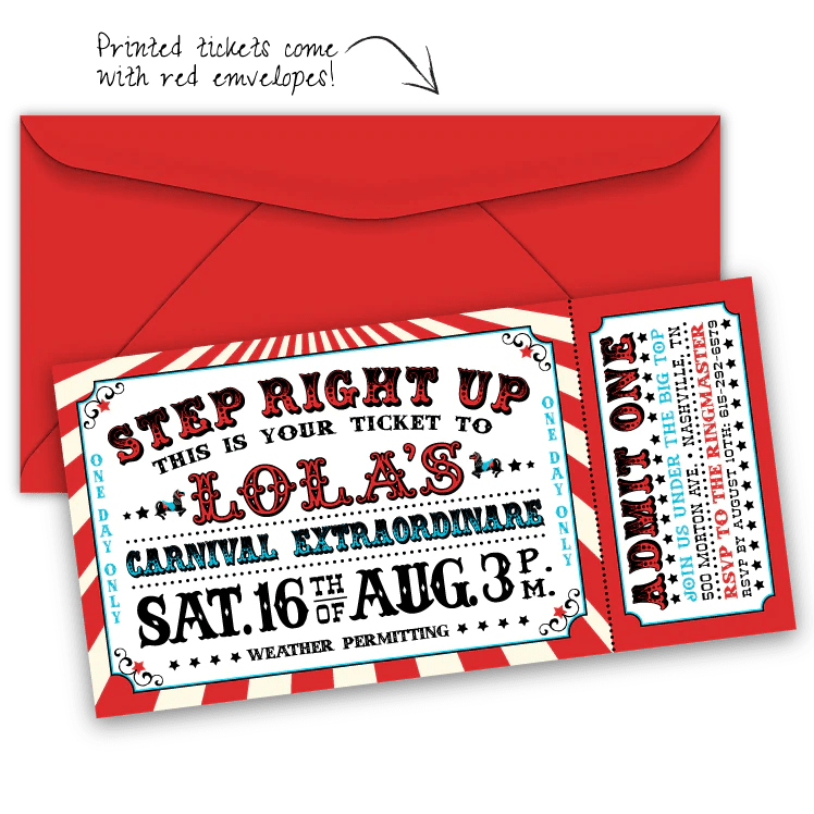 Baby Party Invitation Card