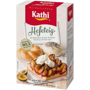yeast dough baking mix Kathi