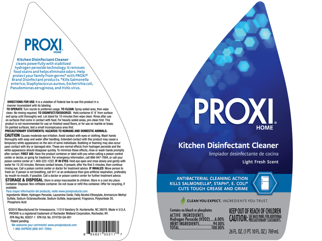 PROXI Kitchen Disinfectant Cleaner 26 Oz 6pk