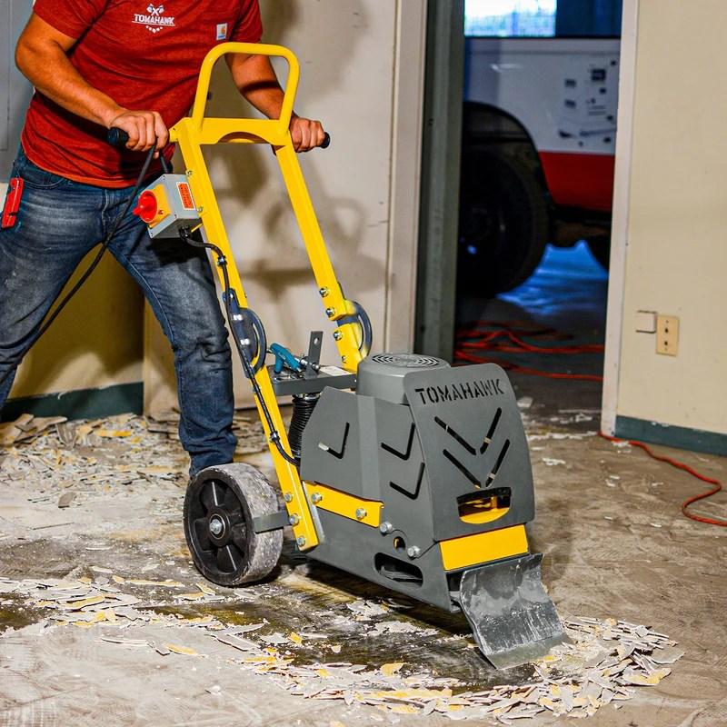 8 electric floor scraper tile stripper vinyl carpet wood floor remover