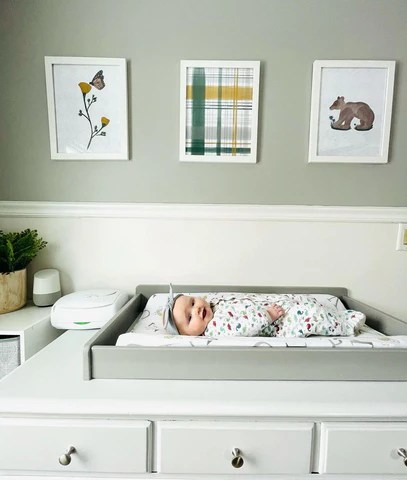 Sample swatch 12in x 24in. Our Top 5 Nursery Design Trends For 2021 Tiny Human Print Co