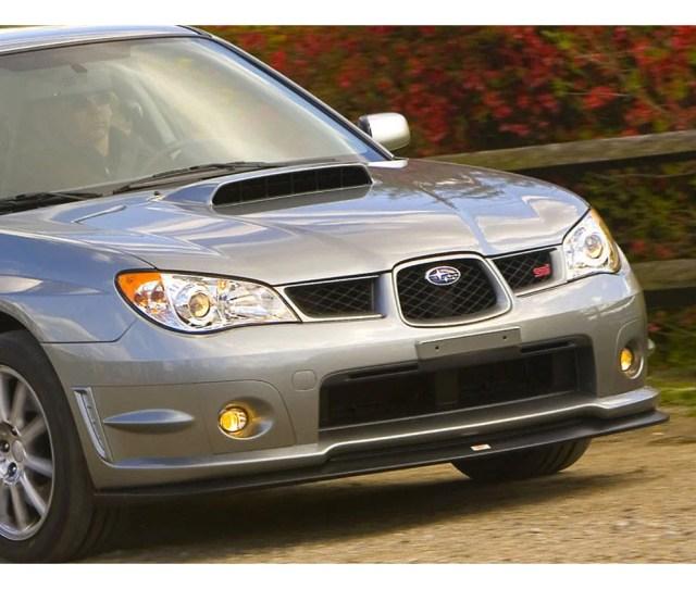 Genuine Subaru V Limited Front Lip 2006 2007 Wrx Sti