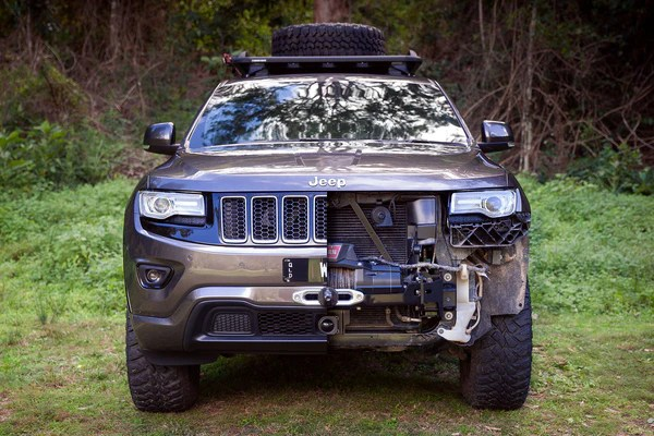 WK2 Hidden Winch Mount | Chief Products